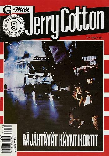 Jerry Cotton – cowboy ja Aku Ankka samassapaketissa